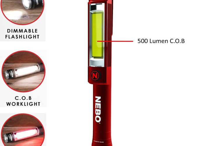 Nebo Big Larry 2 Torch - Red - 1