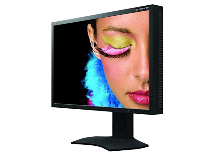 NEC SpectraView 23 Inch IPS LCD Backlit Monitor - 1920 x 1080 at 60 Hz (USB Hub, 3D LUT Colour Space Emulation) - 1