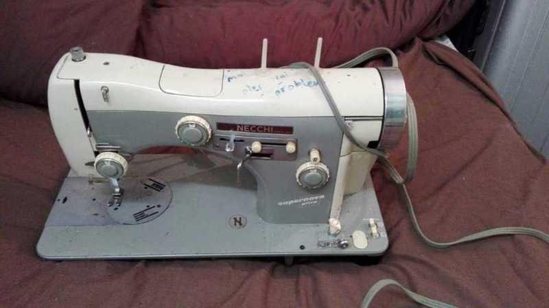 Necchi sewing machine - 1