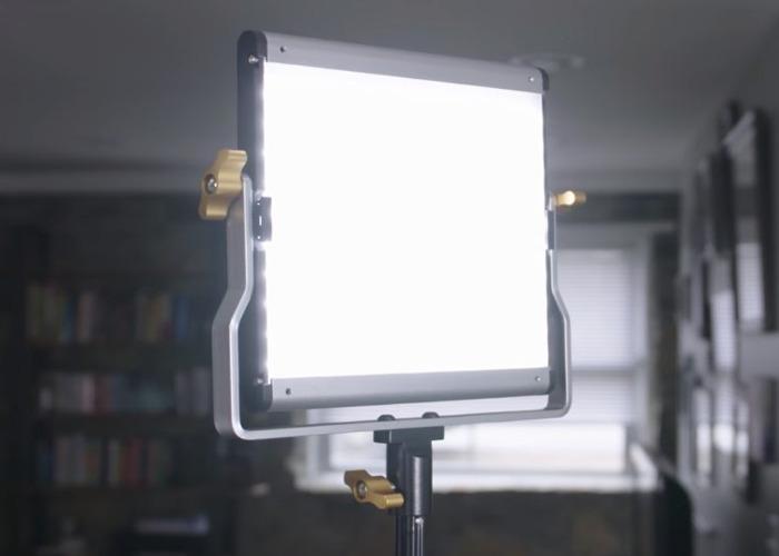 Neewer 3 Bi-color 480 LED Lights & stands & batts - 1