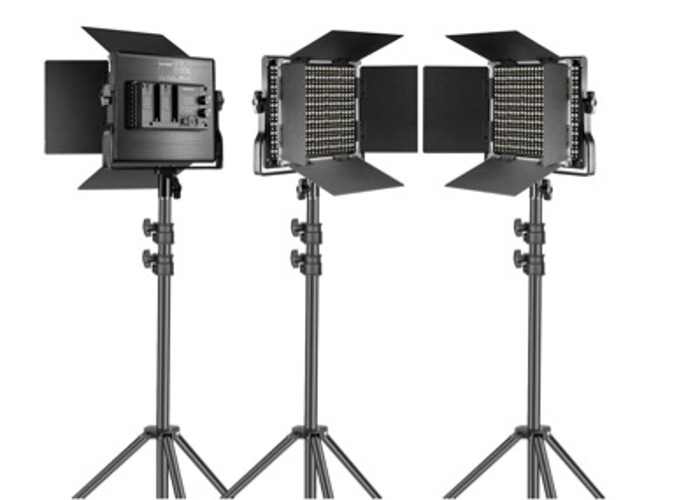 Neewer 3 Packs 660 LED Video Light with Stand - 1