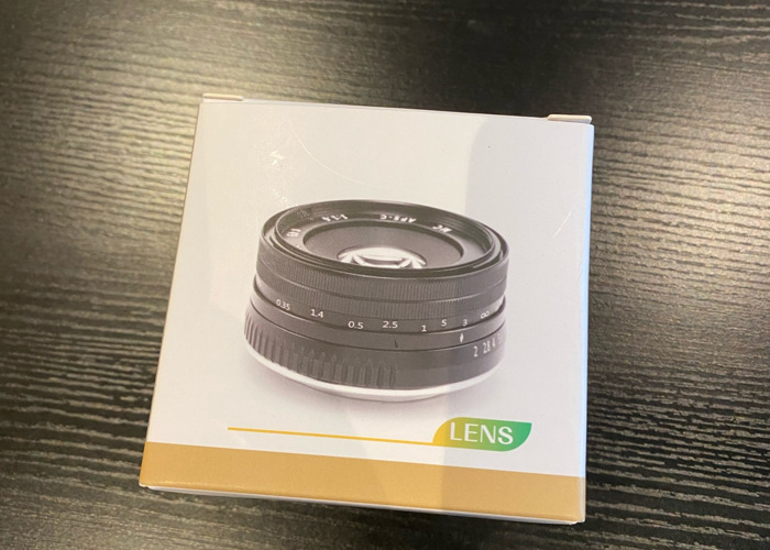 Neewer 35mm f1.2 E-mount - 2