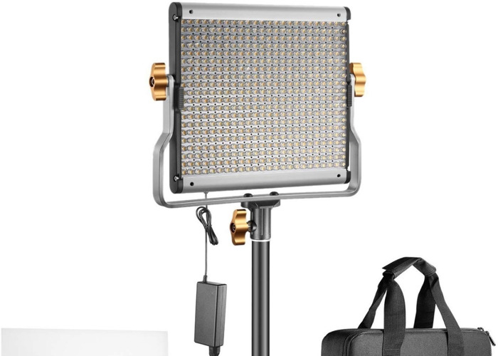 Neewer Bi-color LED 480 Video Light and Stand Kit   - 2