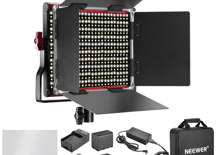 LED Light Dimmable Bi-color 660 LED Pannel - 1
