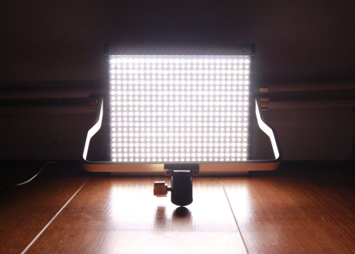 Neewer Dimmable Bi-color LED with U Bracket Professional Vid - 1