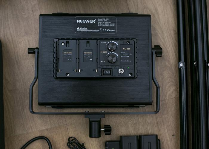 Neewer LED Panels kit - 2