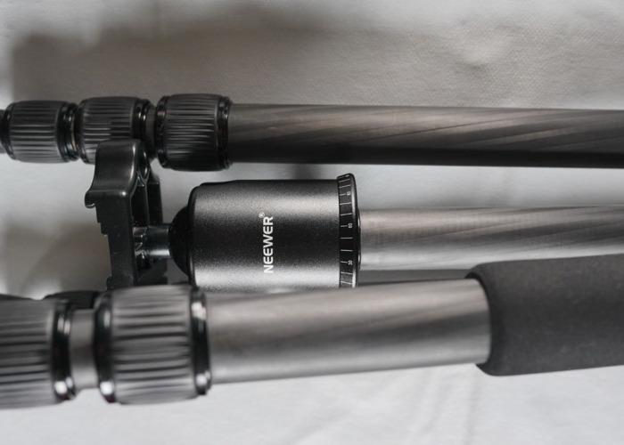 Neewer carbon fiber tripod - 2