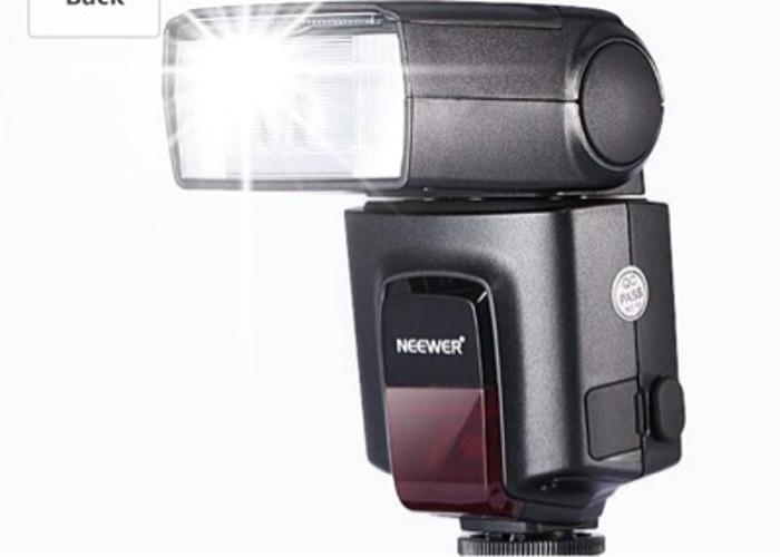Neewer TT560 Flash Speedlite with single contact hot shoe - 2