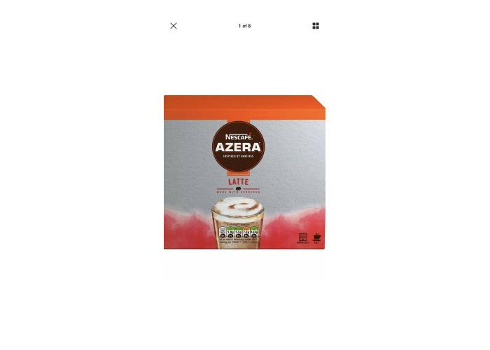 Nescafe Azera Cappuccino Sachets (Pack of 35) - 1