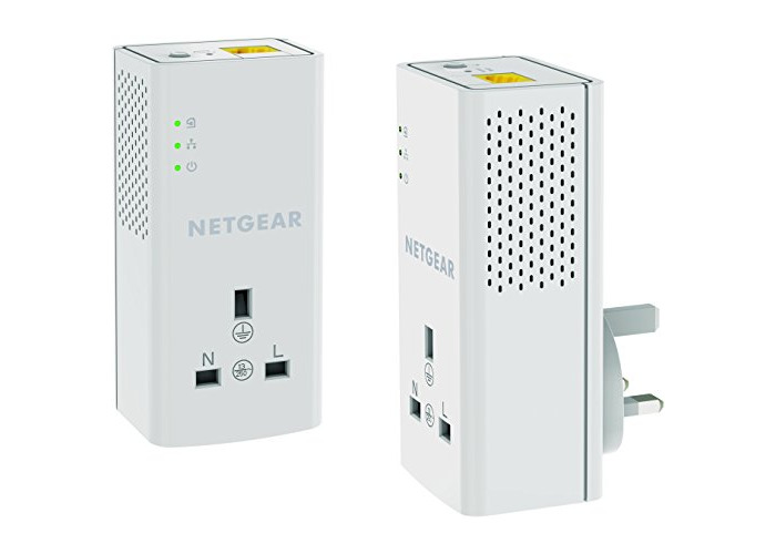*NEW SEALED* NETGEAR PowerLINE 1200 Mbps 1 Gigabit Port with Pass-Through