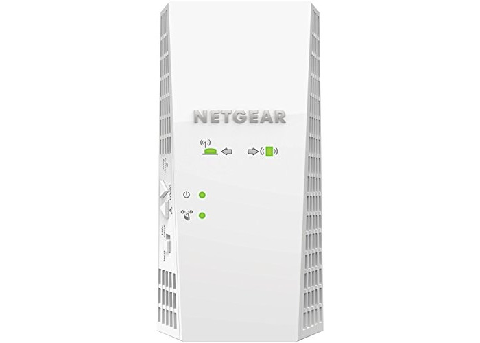 NETGEAR Wi-Fi Mesh Range Extender EX7300 - Coverage up to 2000 sq.ft. and 35 devices with AC2200 Dual Band Wireless Signal Booster/Repeater (up to 2200 Mbps), plus Mesh Smart Roaming with UK Plug - 1