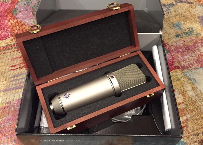 Neumann U87 Ai Large diaphragm condenser microphone - 2