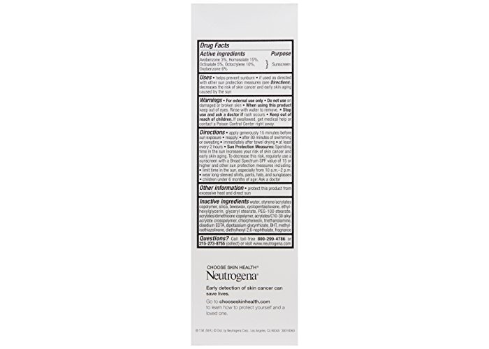 Neutrogena Age Shield Face Lotion Sunscreen with Broad Spectrum SPF 110, Oil-Free & Non-Comedogenic Moisturizing Sunscreen to Prevent Signs of Aging, 3 fl. oz - 2