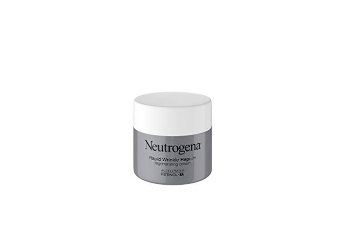 Neutrogena Rapid Wrinkle Repair Retinol Anti-Wrinkle Regenerating Face Cream, Day and Night Use, 1.7 oz - 1