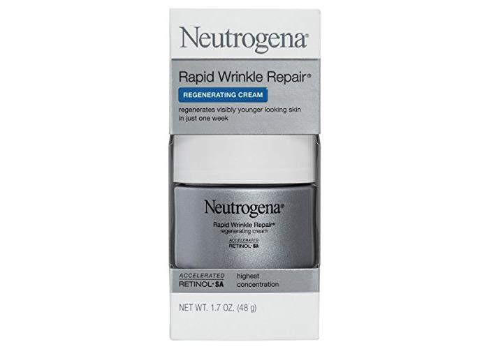 Neutrogena Rapid Wrinkle Repair Retinol Anti-Wrinkle Regenerating Face Cream, Day and Night Use, 1.7 oz - 2