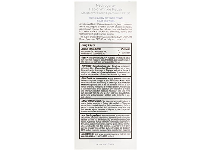 Neutrogena Rapid Wrinkle Repair, Spf 30, 1 Ounce - 2