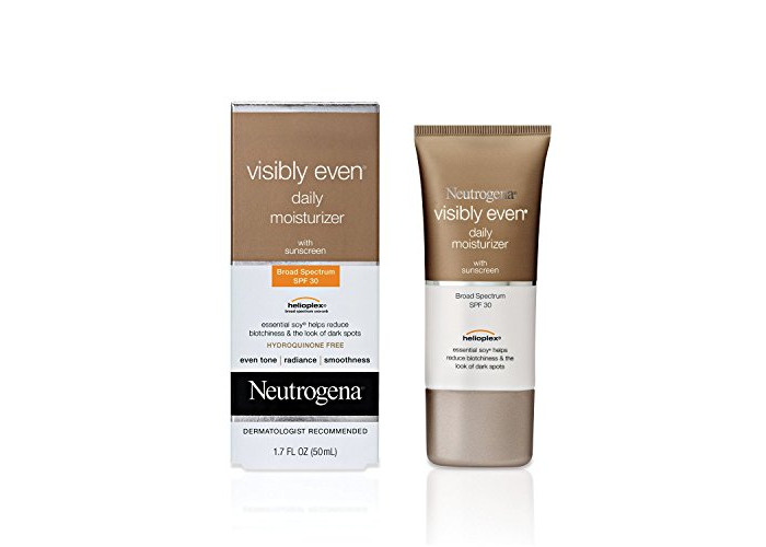 Neutrogena Visibly Even Daily Moisturizer With Sunscreen Spf 30, 1.7 Fl. Oz - 1