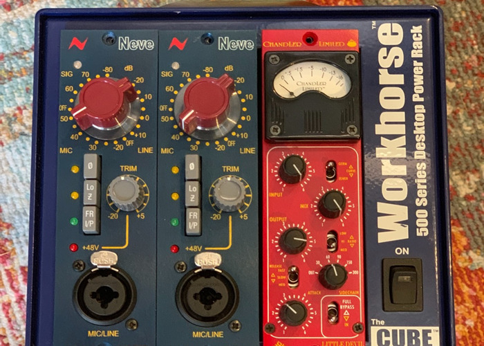 Neve 1073lb 500 series pre amp. Housed in Radial Cube. - 2