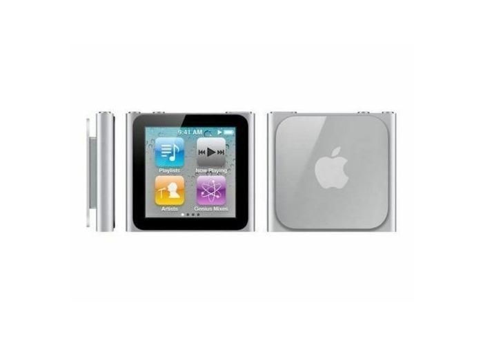 NEW - Apple iPod Nano 6th Generation Silver (8GB) w/Accessories - 1