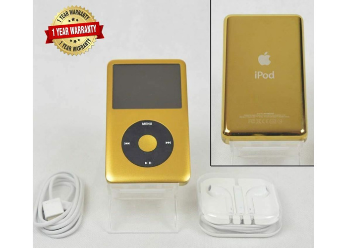 Apple iPod Classic 7th Generation 120GB - Gold / Black - 1