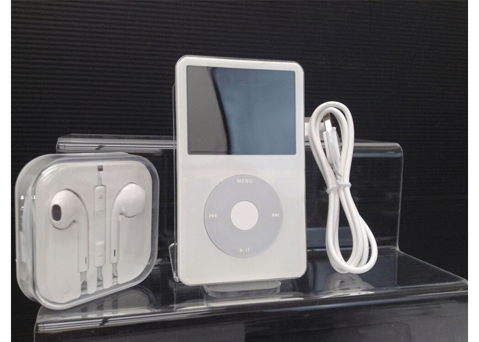 New Battery Warranty! iPod Video Classic 5th Gen 30GB Black White Wolfson DAC