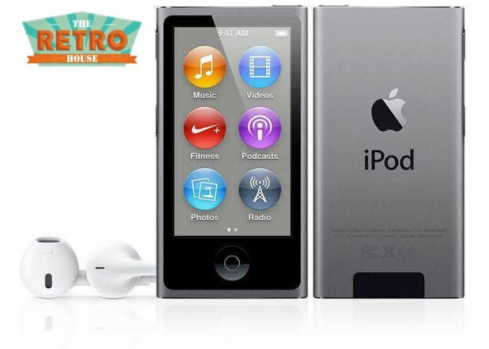 16 Gb Apple Ipod Nano 7th Generation Product Red New 30 Day Warranty