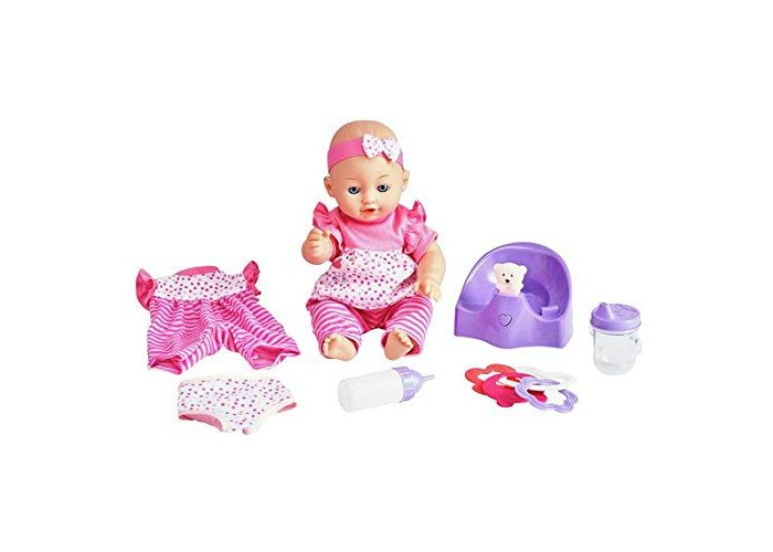 NEW Babies to Love Interactive Doll and Potty Set Christmas Gift - 1