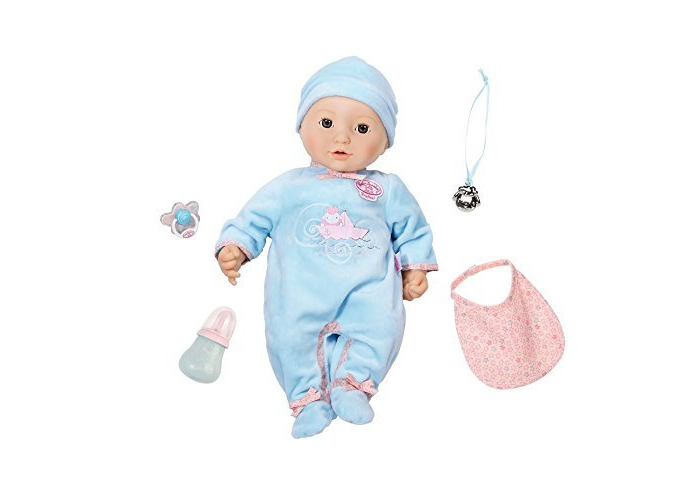 New Baby Annabell Brother Doll And Doll Accessories - 2