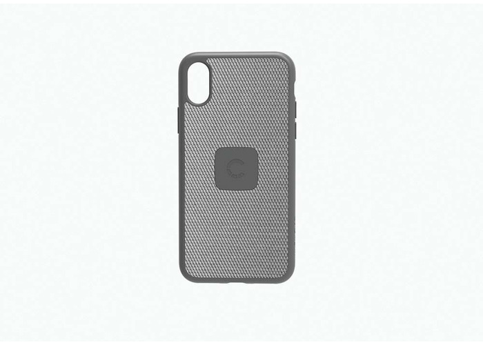 New Cygnett UrbanShield iPhone X Carbon Fibre Silver Slim Case Cover