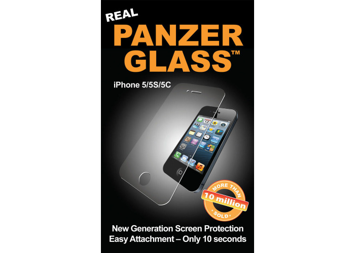 New Genuine PanzerGlass 1010 Apple iPhone 5 5S 5C Glass Screen Protector Guard - 1