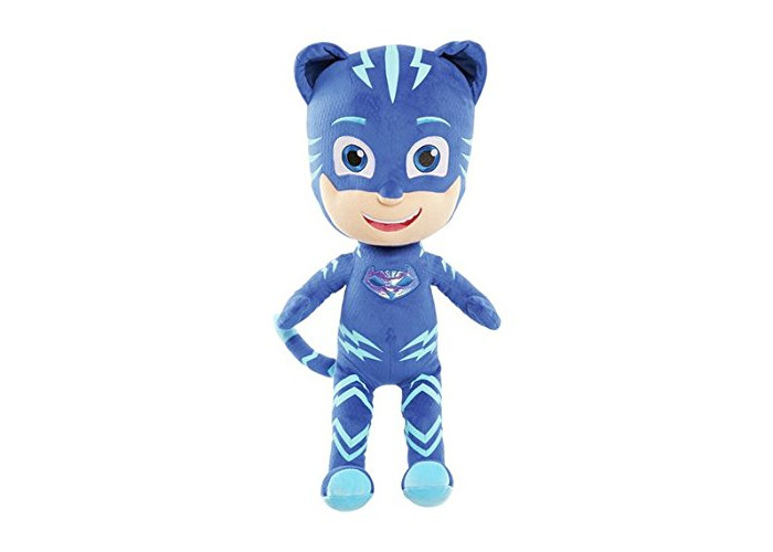 NEW JP PJ Masks Jumbo Soft Toy - Cat Boy Christmas Gift - 2