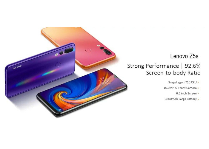 "NEW Lenovo Z5S 128GB 6.3"" Snapdragon 710 CPU Triple Cameras 6GB RAM Android 9 - 2"