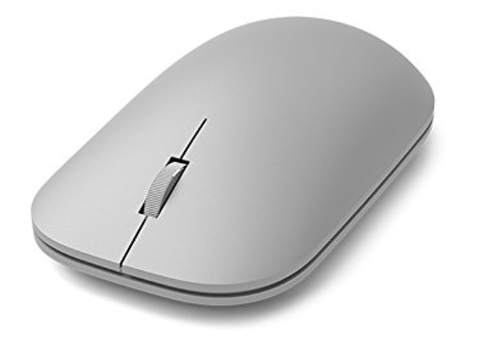New Microsoft WS3-00002 Surface Bluetooth Mouse, Grey - 1