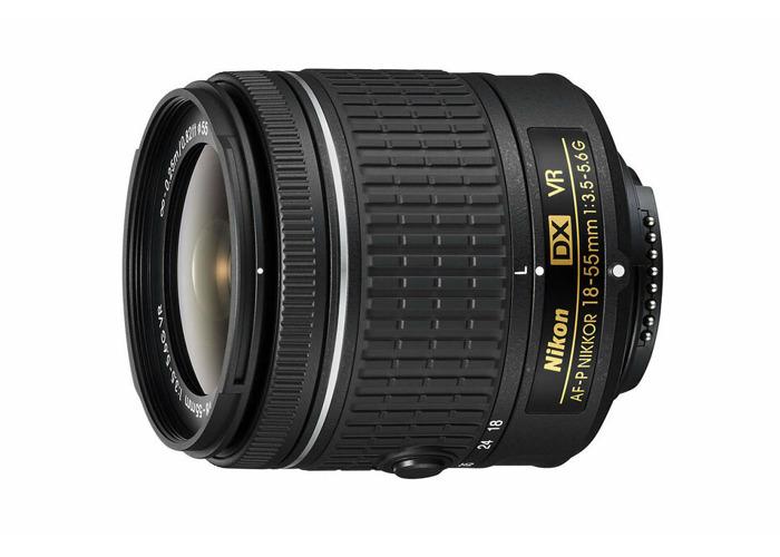 NEW Nikon 18-55mm f/3.5 - 5.6G VR AF-P DX Nikkor Lens - 1