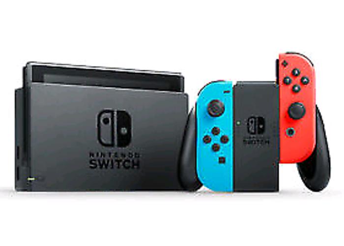 New Nintendo Switch 128GB & WWE-2K18 Game - 2