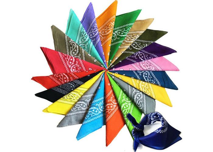 New Paisley Bandana Scarf Head Wear Hair Band Neck Wrist Wrap Head tie UK Stock