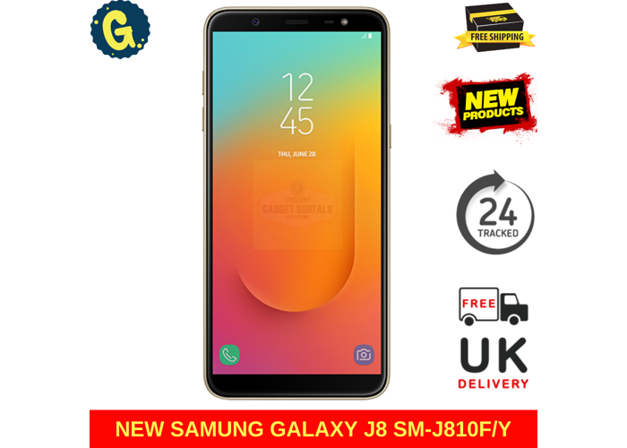 NEW Samsung Galaxy J8 2018 32GB Dual SIM Black SM-J810F Sim Free Unlocked 4G Smartphone - 2