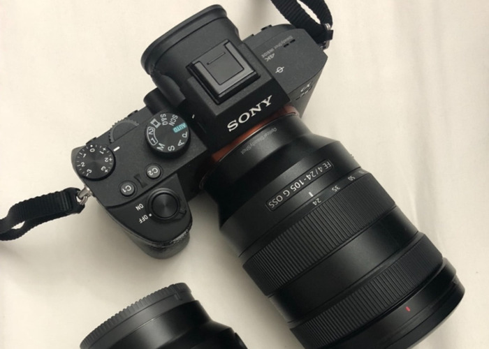 New Sony a7iii with FE 24-105 mm & 85 mm lenses - 1