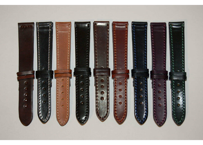 New Unisex Ladies/Mens PU Leather Watch Strap 15 Colours in all sizes 12mm -22mm - 1