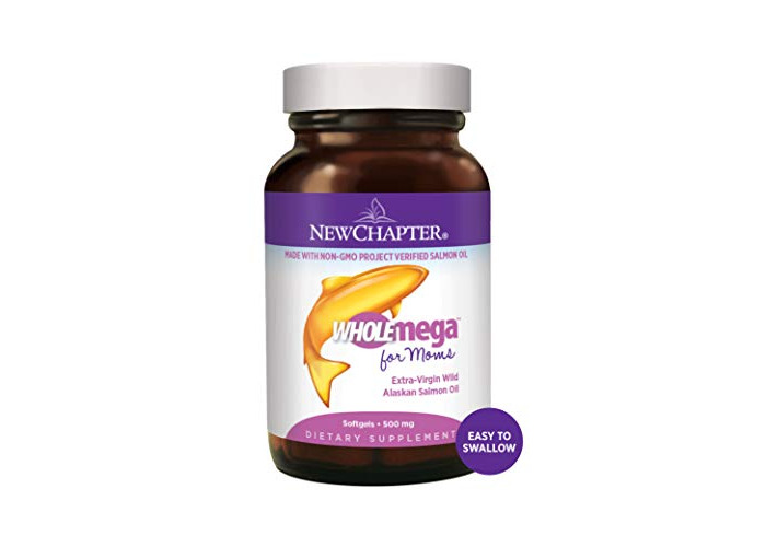 Newchapter Wholemega Prenatal Softgels - Pack of 90 Softgels - 1