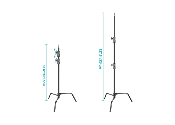 NEWEER  HEAVY DUTY C-STAND - 10FT / 3M - 2
