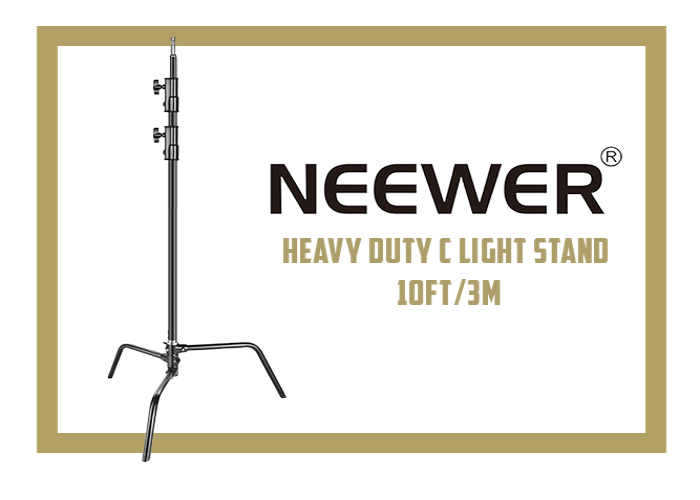 NEWEER  HEAVY DUTY C-STAND - 10FT / 3M - 1