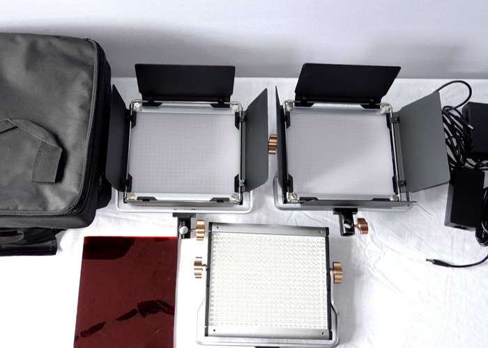 Newer 3 point lighting Set up - 1