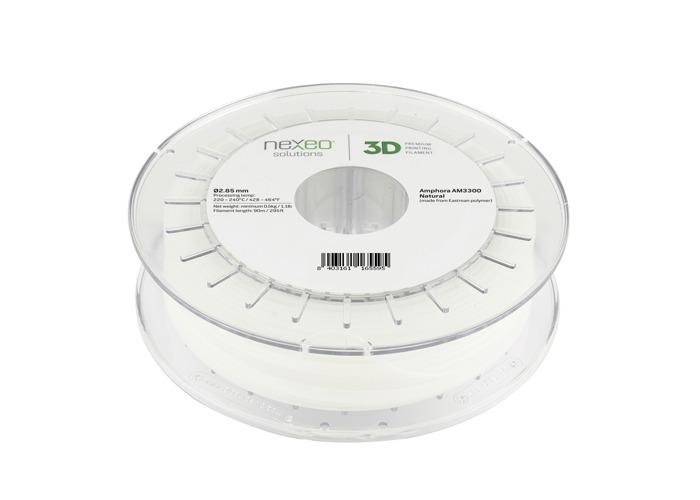 Nexeo3D Amphora™ AM3300 (PET-G) - 2.85mm - 500 g - Natural Translucid - 1