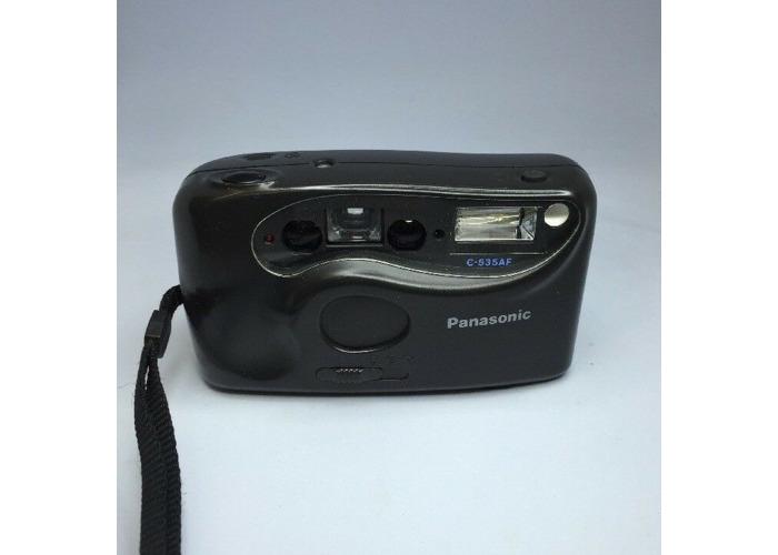 NICE! Panasonic C-535AF Auto Focus 32mm Lens Film Camera *Tested* #310 - 1