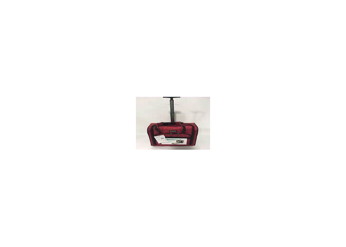 Nicole Miller Black carry-on suitcase, California Pack Burgundy - 1