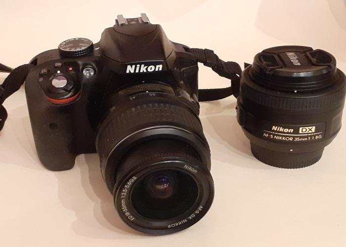 Nikkon D3300 + 2 lenses  - 1