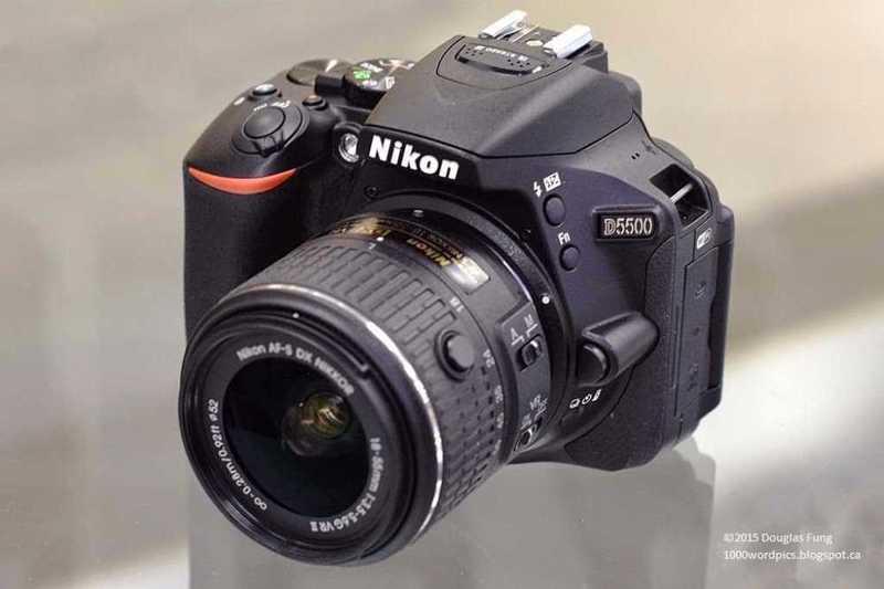 Nikkon d550 - 1
