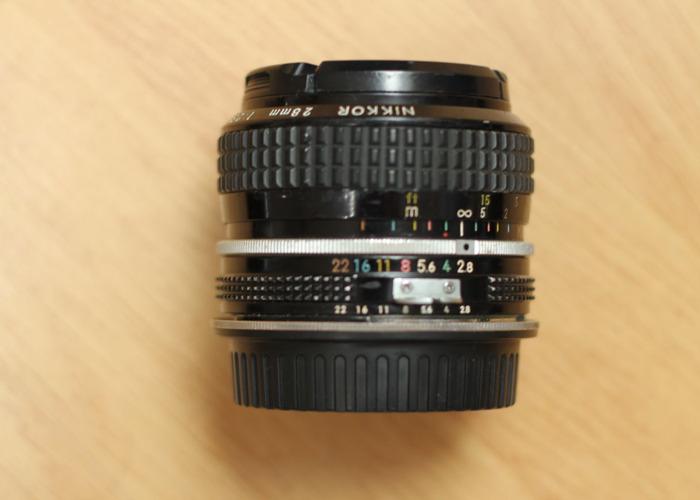 Nikon Nikkor 28mm f2.8 Ai lens - 1