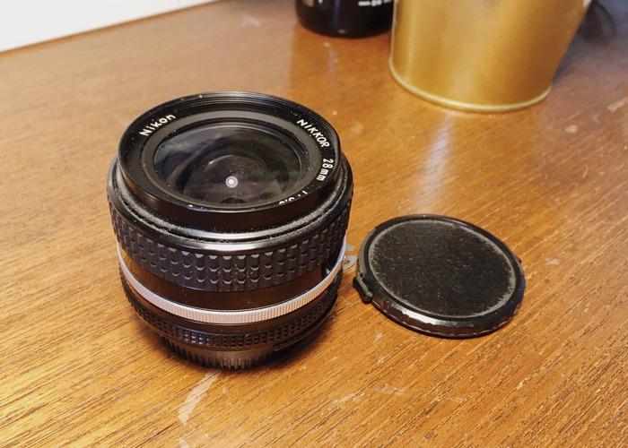 Nikkor 28mm Vintage Prime Lens f3.5 (Nikon) - 2
